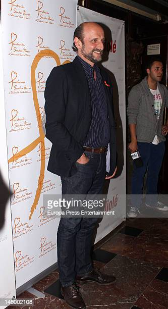 Jose Miguel Fernandez Sastron attends the concert to commemorate the 25th year of Jose Manuel Soto's career at Nuevo Apolo Theatre on May 21 2012 in...
