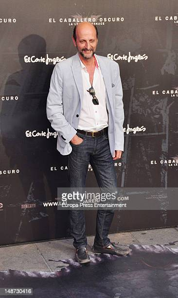 Jose Miguel Fernandez Sastron attends 'The Dark Knight Rises' premiere at Callao Cinema on July 18 2012 in Madrid Spain