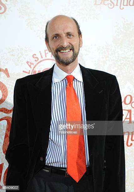 Jose Miguel Fernandez Sastron attends the 'Los Aos Desnudos' premiere at the Capitol Cinema on October 23 2008 in Madrid Spain