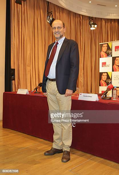 Jose Miguel Fernandez Sastron attends the presentation of Camilo Sesto's new album 'Camilo 70' the day of his 70's birthday on September 16 2016 in...