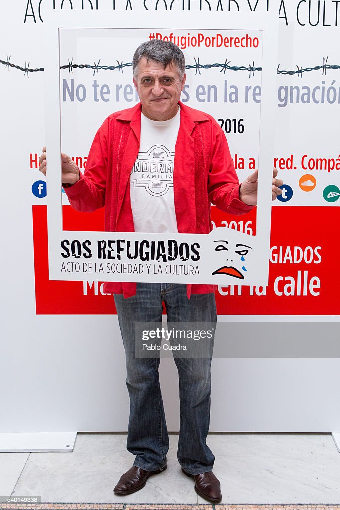 'SOS Refugiados' Event in Madrid