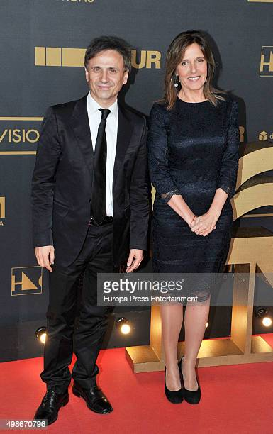 Jose Mota and Ana Blanco attend Onda Awards 2015 gala on November 24 2015 in Barcelona Spain
