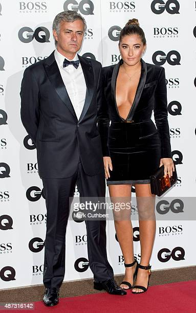 Jose Mourinho and Matilde Mourinho attend the GQ Men of the Year Awards at The Royal Opera House on September 8 2015 in London England