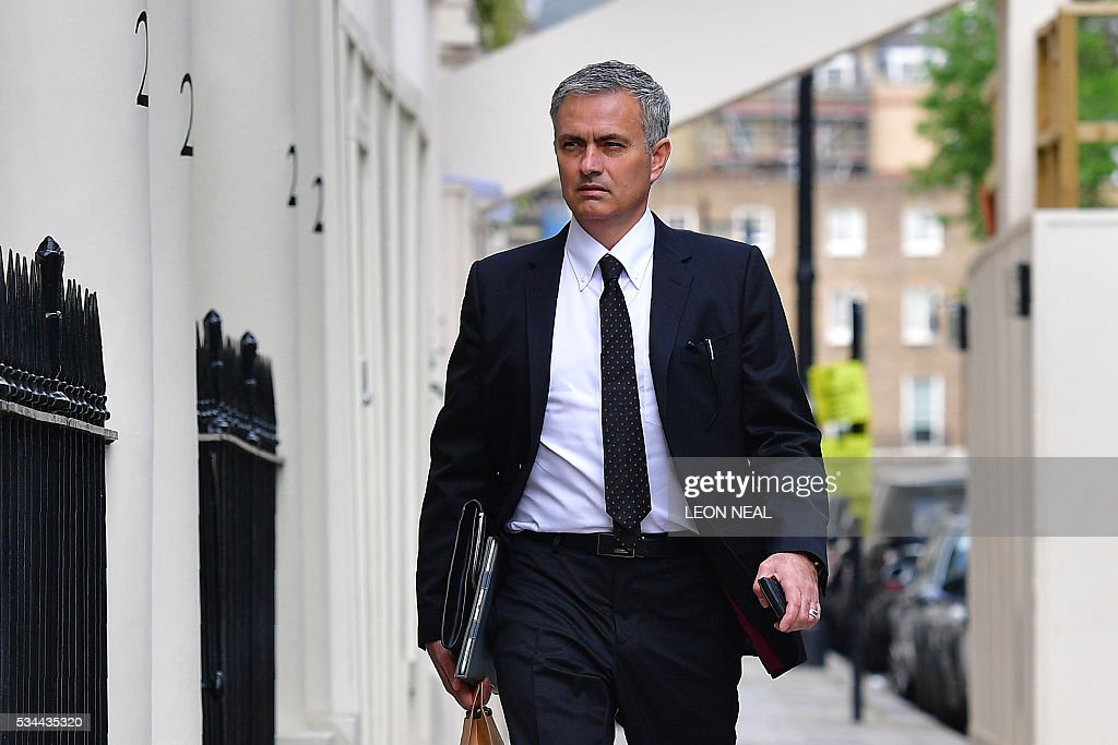 FBL-ENG-PR-MAN UTD-MOURINHO : News Photo