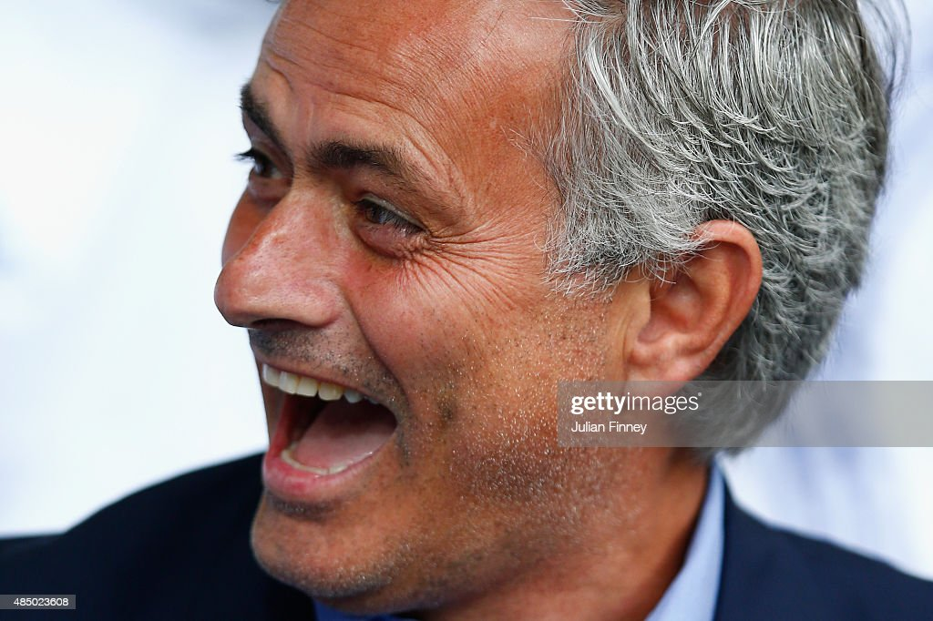 Jose Mourinho, Chelsea manager is seen during the Barclays Premier League match between West Bromwich Albion and Chelsea at the Hawthorns on August 23, 2015 in West Bromwich, United Kingdom.