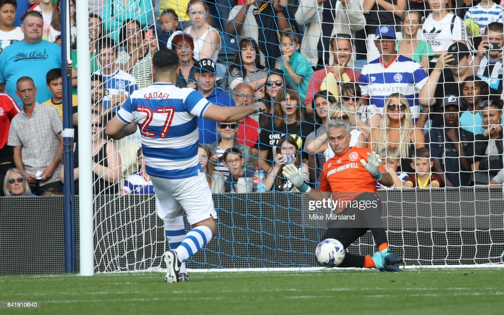 #GAME4GRENFELL At Loftus Road : News Photo
