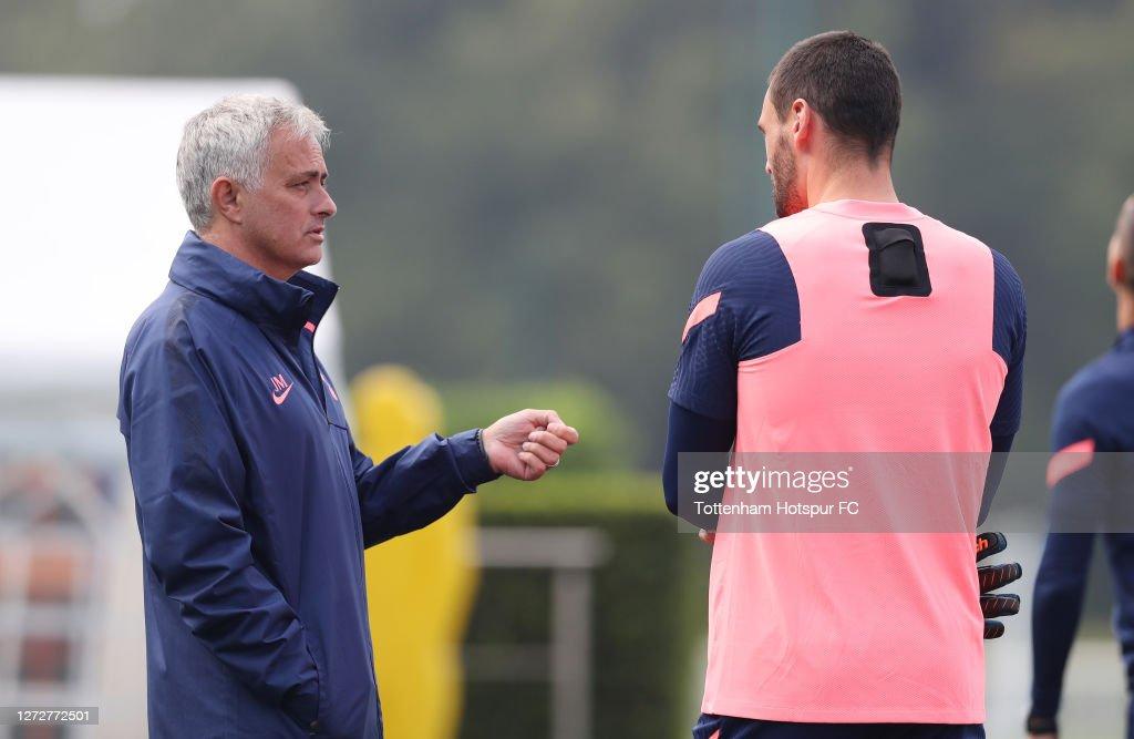 Tottenham Hotspur Training Session : ニュース写真