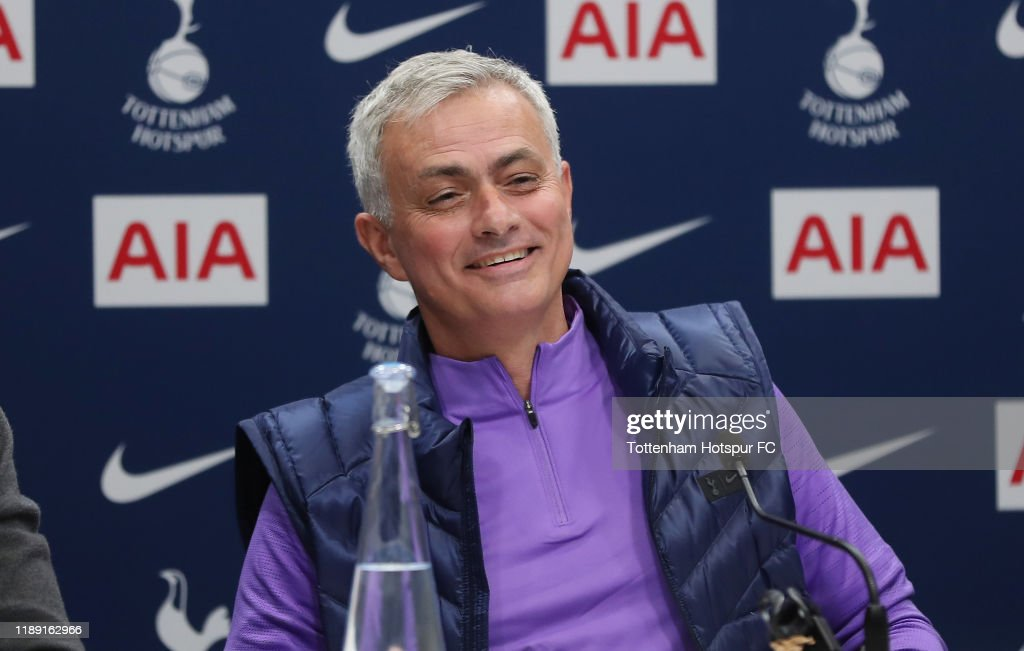 Tottenham Hotspur Training and Press Conference : News Photo
