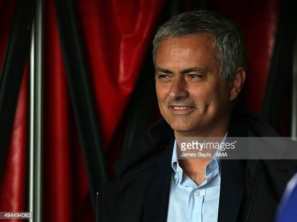 Jose Mourinho Manager / head coach of Chelsea during the Capital One Cup Fourth Round match between Stoke City and Chelsea at Britannia Stadium on...