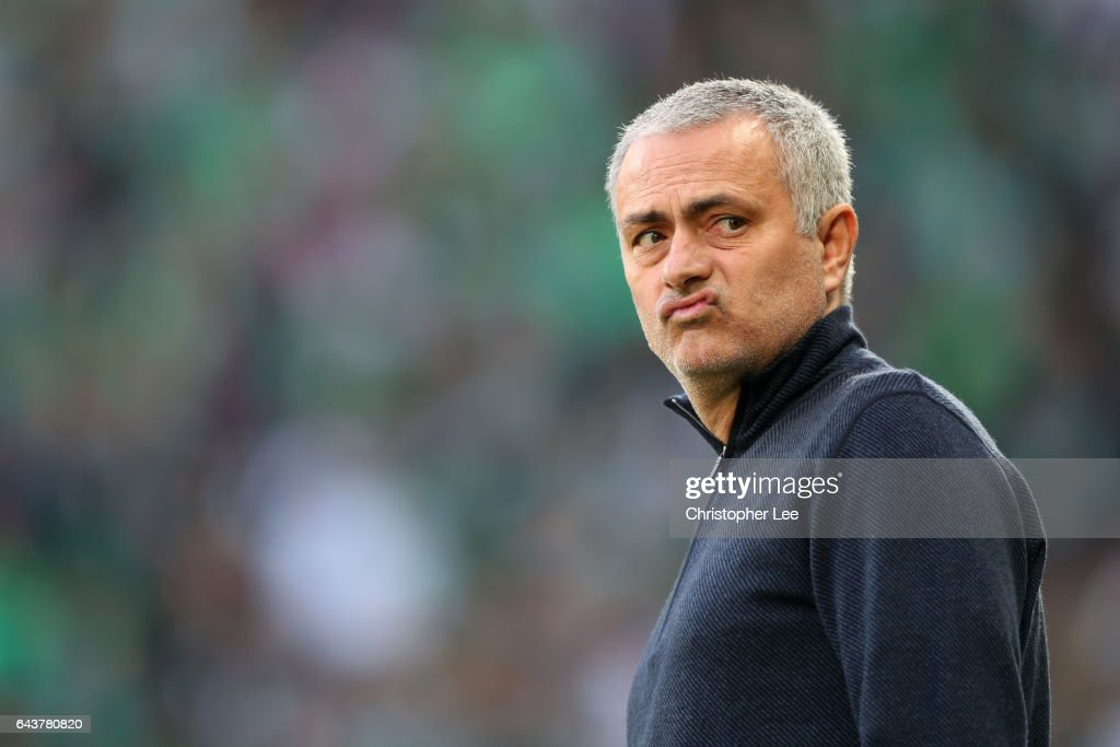 AS Saint-Etienne v Manchester United - UEFA Europa League Round of 32: Second Leg : News Photo