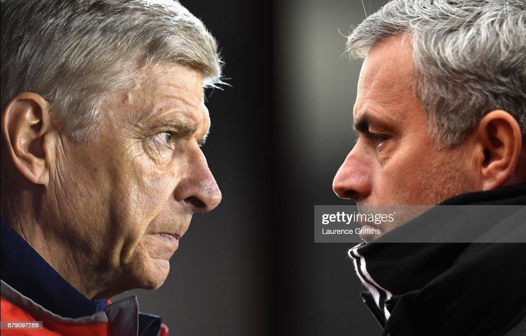 Arsenal v Manchester United - Premier League : Fotografia de notícias