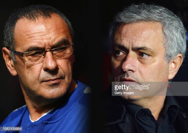 COMPOSITE OF IMAGES Image numbers 1047091738922326746 GRADIENT ADDED In this composite image a comparison has been made between Maurizio Sarri...