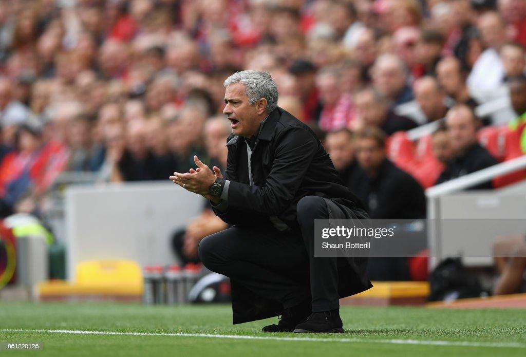 Liverpool v Manchester United - Premier League : Photo d'actualité