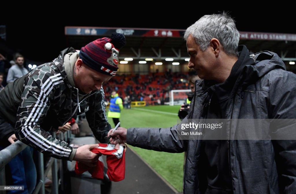 Bristol City v Manchester United - Carabao Cup Quarter-Final : Nieuwsfoto's