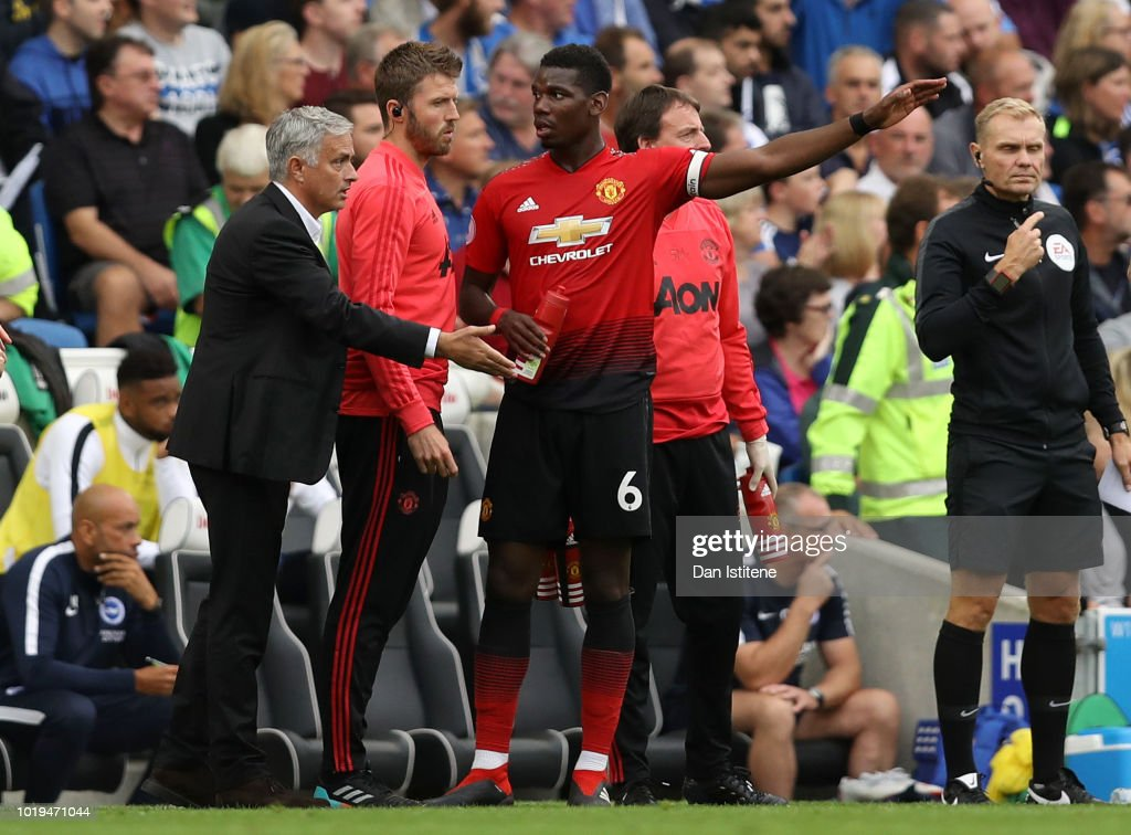 Brighton & Hove Albion v Manchester United - Premier League : News Photo