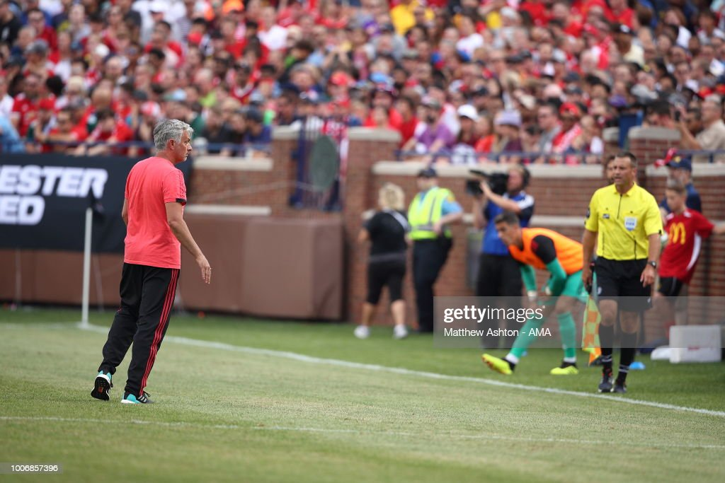 Manchester United v Liverpool - International Champions Cup 2018 : News Photo