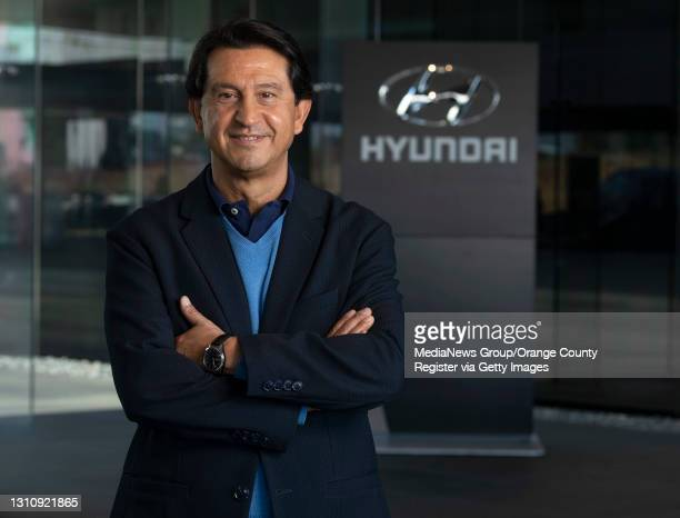 """Jose Munoz, Hyunai's global chief operating officer and North American president and CEO, at the company""""u2019s headquarters in Fountain Valley, CA..."""