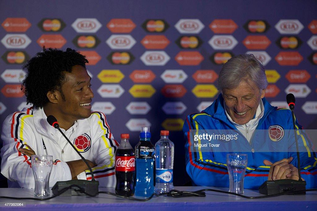 Colombia Press Conference - 2015 Copa America Chile