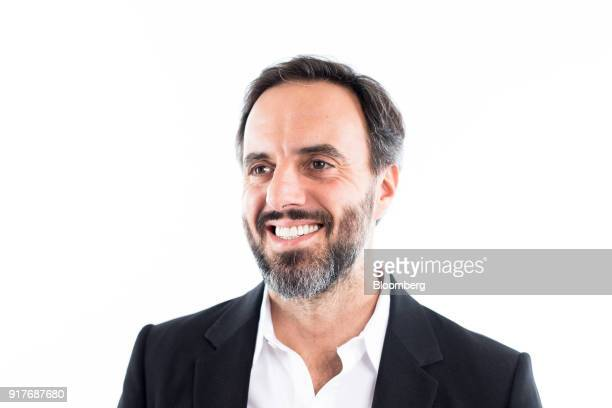 Jose Neves founder and chief executive officer of Farfetch UK Ltd poses for a photograph following a Bloomberg Television interview in London UK on...