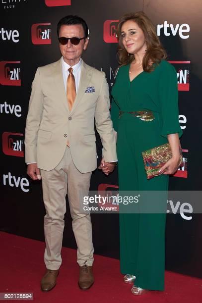 Jose Ortega Cano and Ana Maria Aldon attend 'Corazon' TV programme 20th Anniversary at the Alma club on June 27, 2017 in Madrid, Spain.