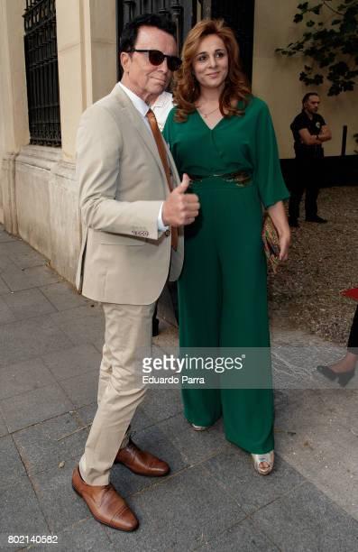 Jose Ortega Cano and Ana Maria Aldon attend the 'Corazon 20th anniversary' party at Alma club on June 27, 2017 in Madrid, Spain.
