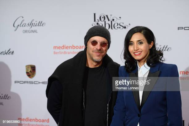 Jose Padilha and guest attend the Medienboard BerlinBrandenburg Reception at The 68th Berlinale International Film Festival on February 17 2018 in...