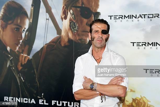 Jose Padilla attends 'Terminator Genesis' premiere at Kinepolis Cinema on July 8 2015 in Madrid Spain