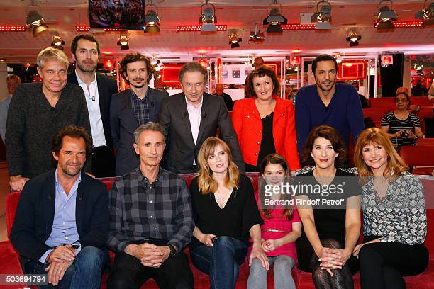 Jose Paul Ben Arnaud Tsamere Michel Drucker Anne Roumanoff Tomer Sisley Stephane De Groodt Main Guest of the show Thierry Lhermitte Isabelle Carre...