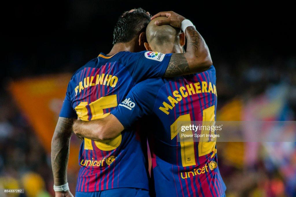 La Liga 2017-18 - FC Barcelona vs SD Eibar : ニュース写真