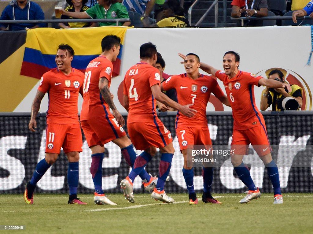 Colombia v Chile: Semifinal - Copa America Centenario : News Photo