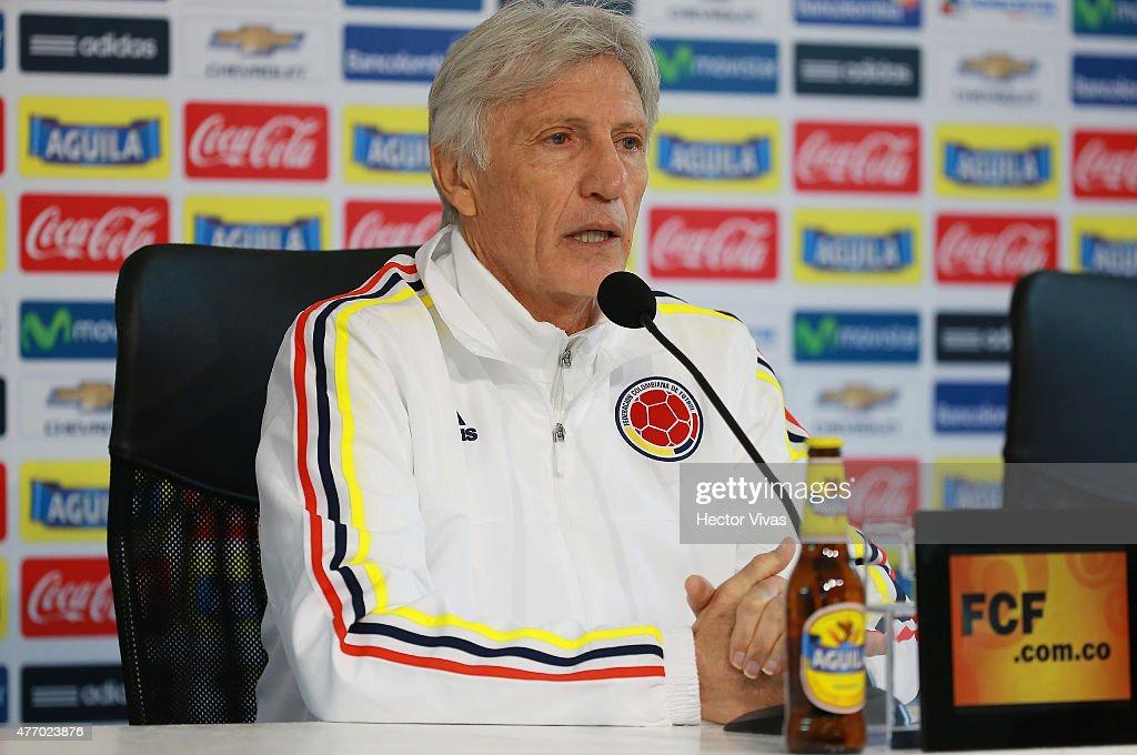 Colombia Training & Press Conference - 2015 Copa America Chile