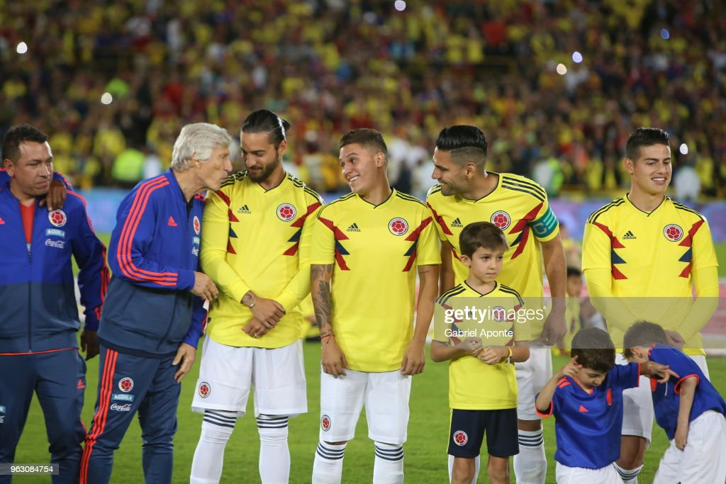 Colombia Open Training Session : News Photo