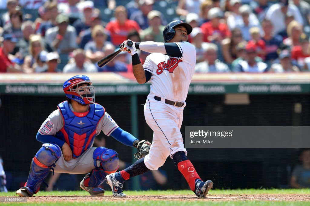 Texas Rangers v Cleveland Indians - Game One : News Photo