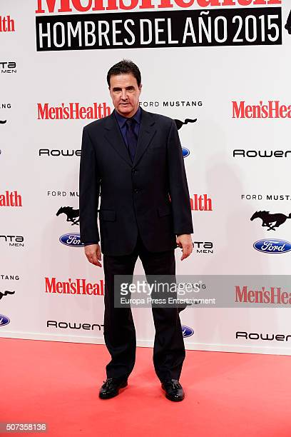 Jose Ramon de la Morena attends Men's Health 2016 Awards on January 28 2016 in Madrid Spain