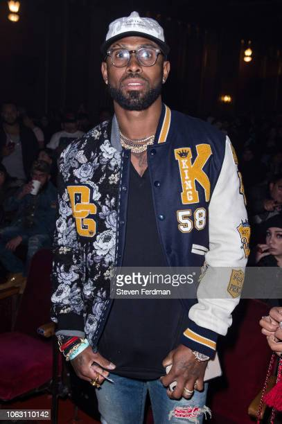 Jose Reyes attends Anuel AA Karol G In Concert at United Palace Theater on November 17 2018 in New York City