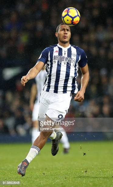 Jose Salomon Rondon of West Bromwich Albion during the Premier League match between West Bromwich Albion and Southampton at The Hawthorns on February...