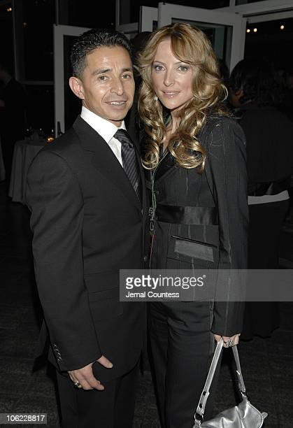 Jose Santos and Chantal Sutherland during The Muscular Dystrophy Association's 10th Annual Muscle Team Gala at Pier 60 at Chelsea Piers in New York...