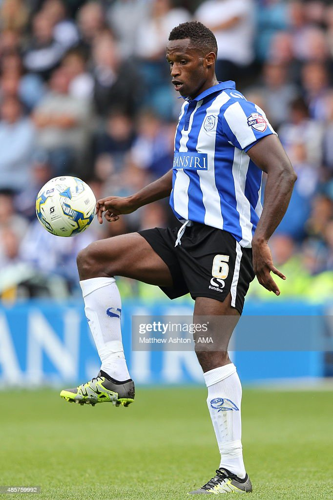 Jose Semedo of Sheffield Wednesday during the Sky Bet Championship match between Sheffield Wednesday and Middlesbrough at Hillsborough on August 29, 2015 in Sheffield, England.