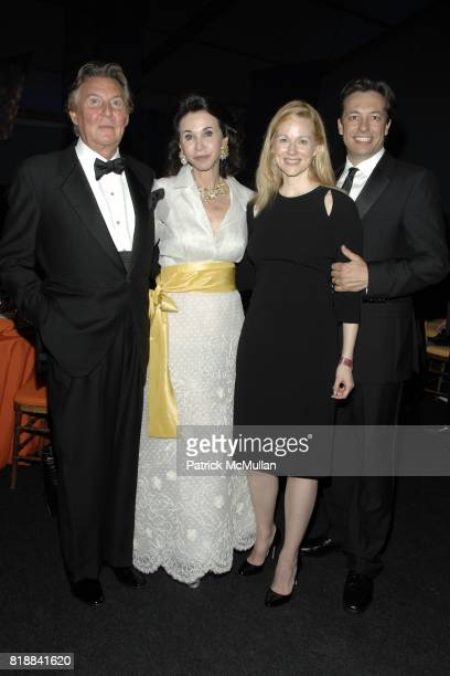 Jose Serrano Pepita Serrano Laura Linney and Marc Schauer attend The Juilliard School Gala Celebrating Joseph W Polisi at The Juilliard School on...
