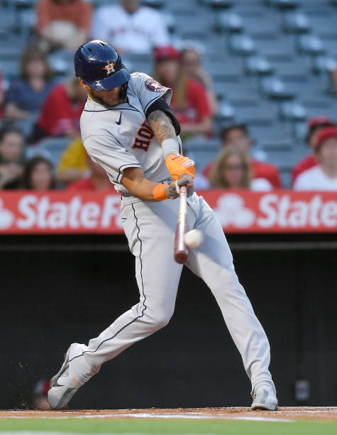 CA: Houston Astros v Los Angeles Angels