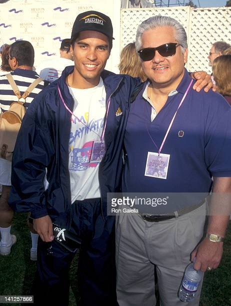 Jose Solano and father Jose Solano Sr. At the 4th Annual Revlon Run/Walk for Women's Cancer Research, Drake Stadium at UCLA, Los Angeles.