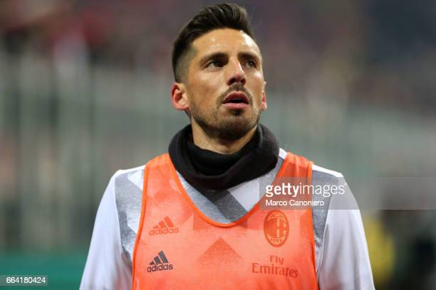 Jose Sosa of Ac Milan Calcio during the Serie A match between AC Milan and SSC Napoli SSC Napoli wins 21 over AC Milan
