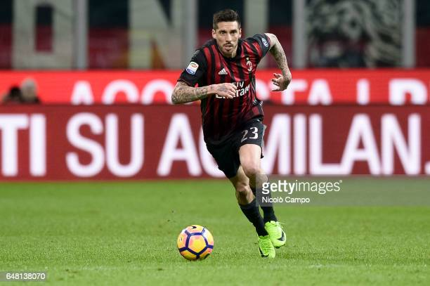 Jose Sosa of AC Milan in action during the Serie A football match between AC Milan and AC ChievoVerona AC Milan wins 31 over AC ChievoVerona