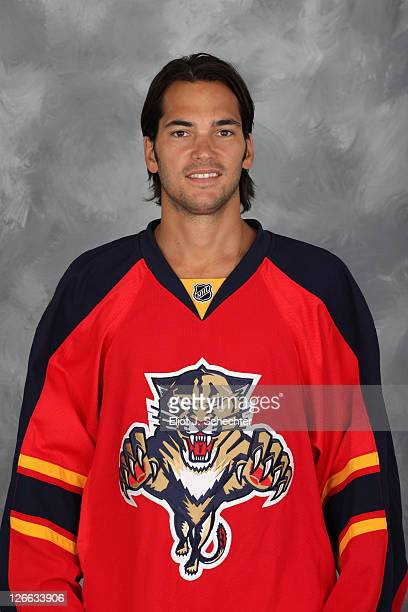 Jose Theodore of the Florida Panthers poses for his official headshot for the 20112012 NHL season September 16 2011 in Coral Springs Florida