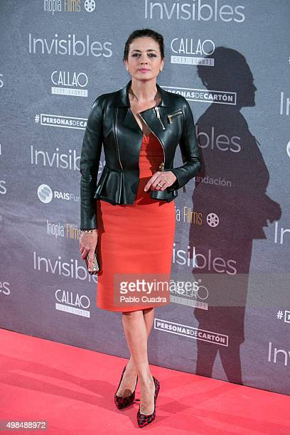 Jose Toledo attends 'Invisibles' charity premiere at the Callao City Lights Cinema on November 23 2015 in Madrid Spain