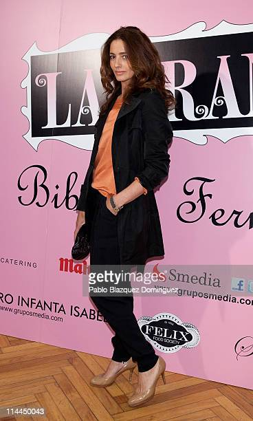 Jose Toledo attends 'La Gran Depresion' premiere at Infanta Isabel Theatre on May 19, 2011 in Madrid, Spain.