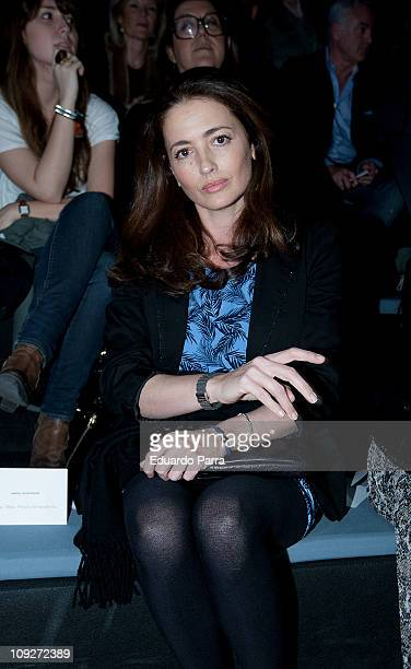 Jose Toledo attends the Angel Schelesser fashion show during the Cibeles Madrid Fashion Week A/W 2011 at Ifema on February 18 2011 in Madrid Spain