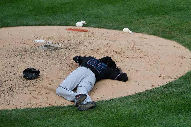 NY: Miami Marlins v New York Yankees