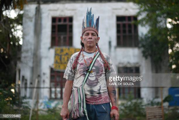 Jose Urutau of the Guajajara ethnic tribe, linguist and researcher at the National Museum of Rio de Janeiro for whom the inferno that gutted the...