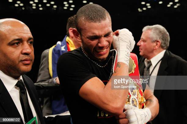 Jose Uzcategui defeated Andre Dirrell ON MARCH 3 at the Barclays Center in Brooklyn NY
